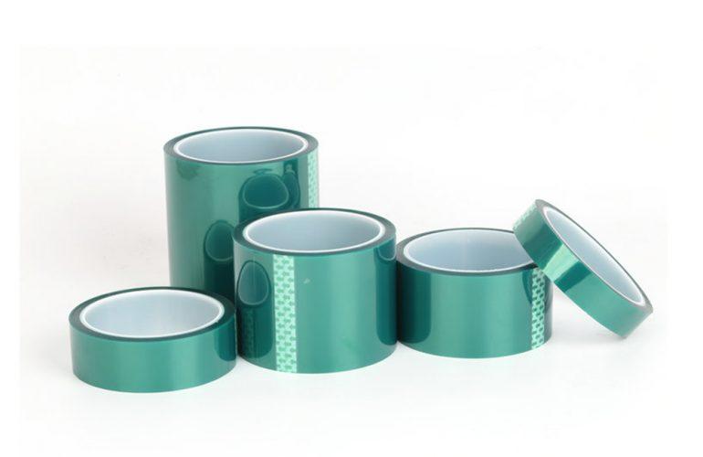 Polyester Pet Bant 80 Micron Yeşil 200℃